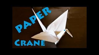How to Make a Paper Crane (Origami) - Rob's World
