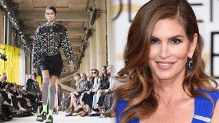 Kaia Gerber DOMINATES Paris Fashion Week with Cindy Crawford's Support