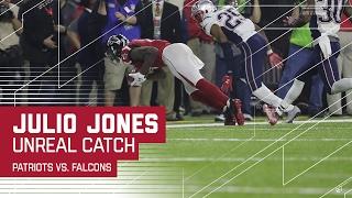 Julio Jones Unreal Sideline Catch! | Patriots vs. Falcons | Super Bowl LI Highlights