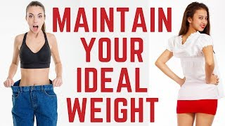 5 Factors for Maintaining a Healthy Weight
