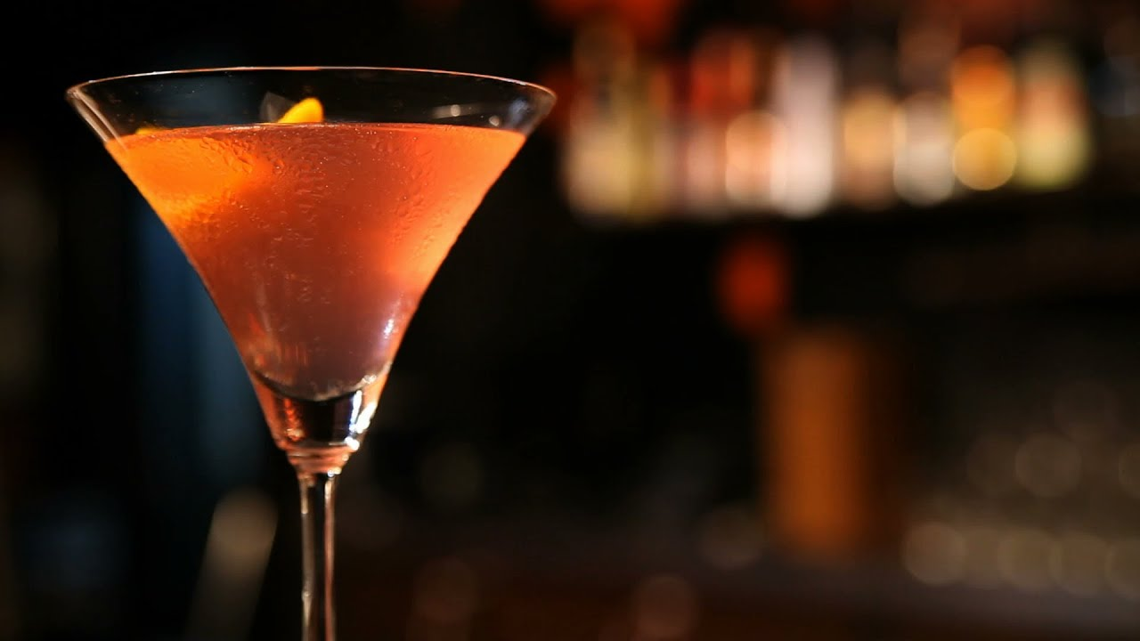 Cosmopolitan cocktail  Cosmopolitan (Vodka And Cointreau Cocktail) By Errol - YouTube
