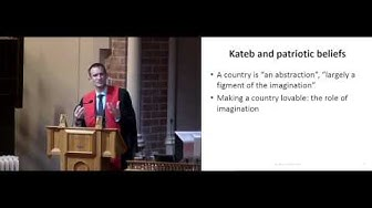 The ethics of patriotism - Professor Simon Keller