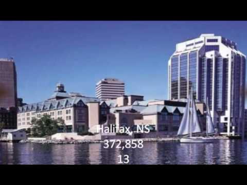 top 25 cities in canada