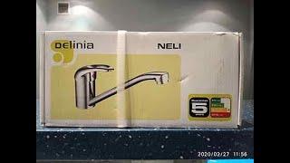 обзор кухонного смесителя Delinia(neli)