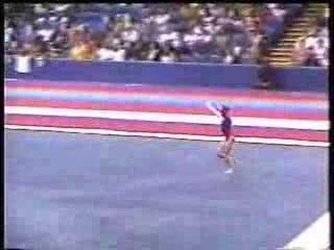 Krista Jasper  2002 U.S. Nationals Day 2  Floor Exercise