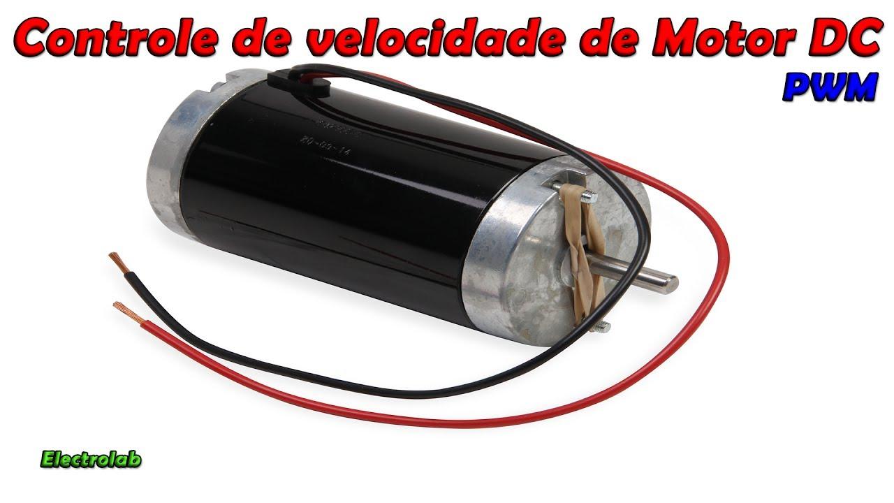 97755808a7d Controle de velocidade de motor DC - PWM! - YouTube