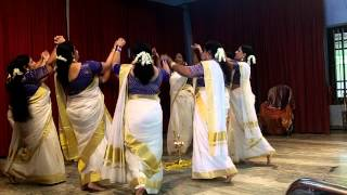 Kaithappoo manamenthe chanjalakshi, Thiruvathirakali, Onam Dance YWCA