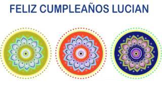 Lucian   Indian Designs - Happy Birthday