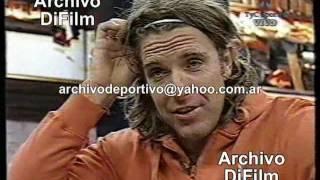 DiFilm - Alejandro Fantino entrevista a Mauro Rosales Parte 1 2004