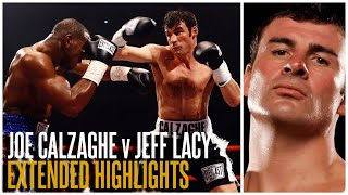 JOE CALZAGHE v JEFF LACY (EXT. HIGHLIGHTS) | WORLD SUPER MIDDLEWEIGHT TITLE | THE QUEENSBERRY VAULT