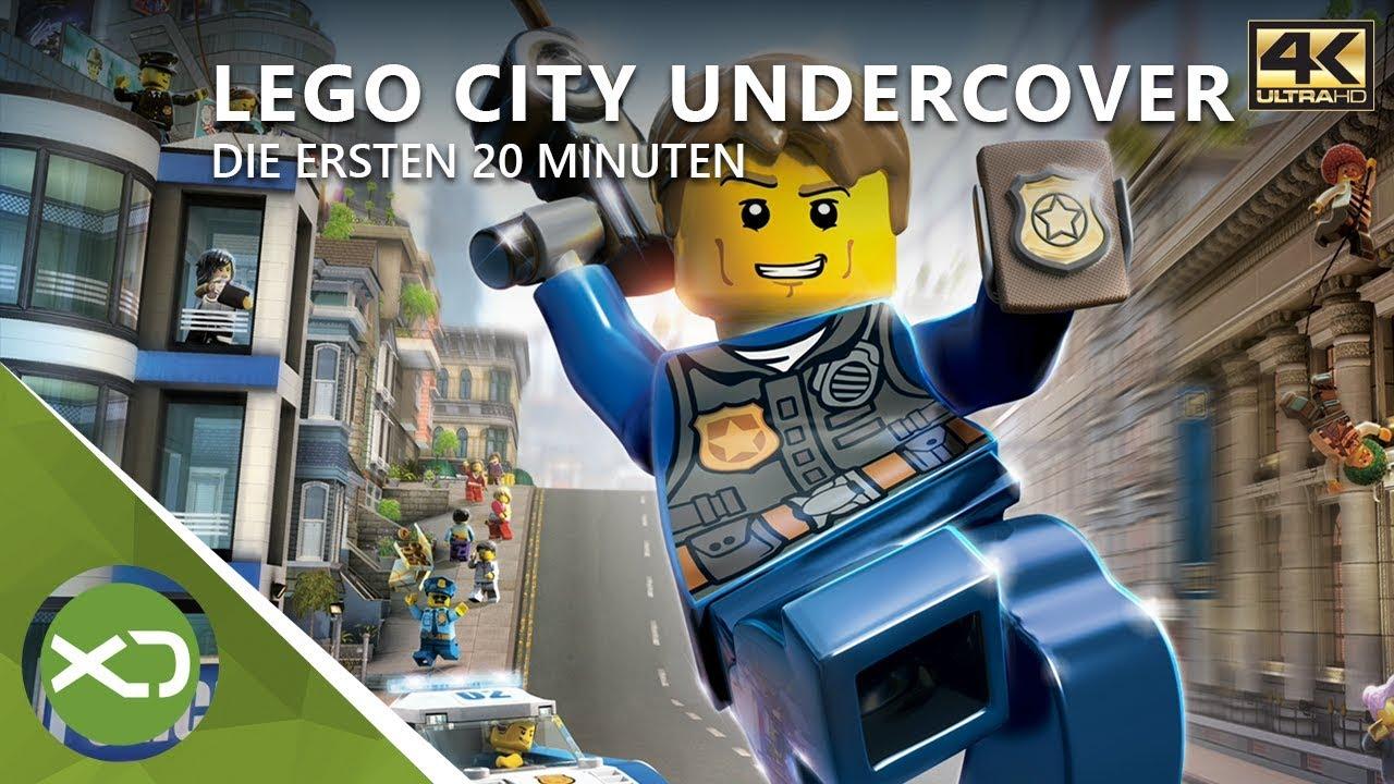 LEGO City Undercover - Die Ersten 20 Minuten in 4K - Xbox ...