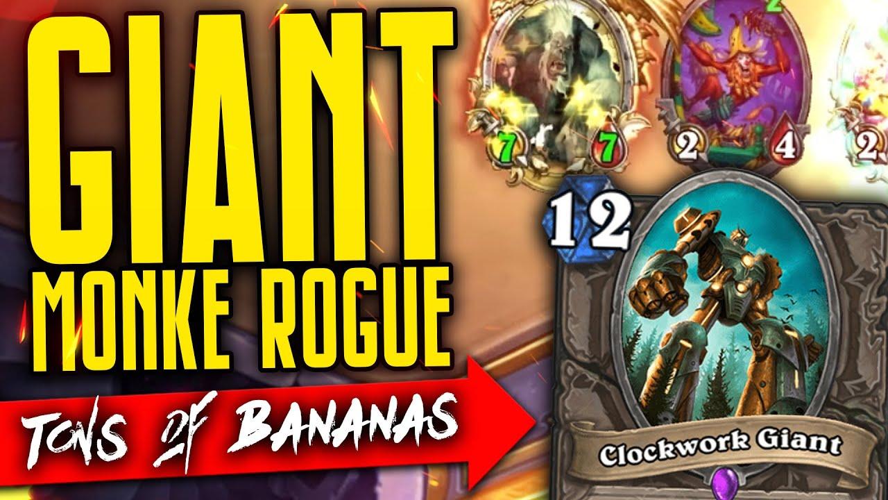 🍌 a new rogue deck is born - Giant Banana Monkey Rogue 🍌 - Wailing Caverns