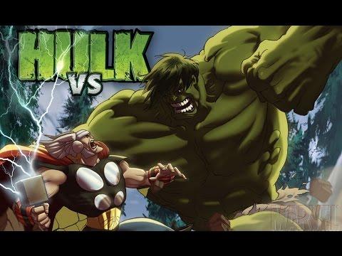 גיבורי על באנימציה - Hulk VS