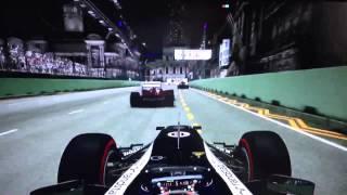F1 2012 Singapore Gameplay (X360)