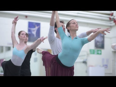Adagio Hammerklavier: Rehearsal Trailer | English National Ballet