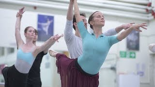 Adagio Hammerklavier Rehearsal Trailer | English National Ballet