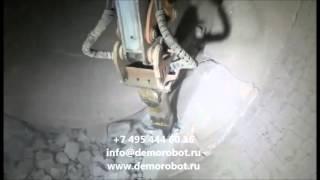 видео Оборудование для демонтажа кирпичной кладки