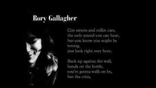 Sinner Boy - Rory Gallagher (lyrics on screen)