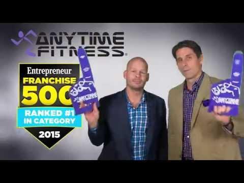 Entrepreneur's #1 Fitness Franchise in 2015