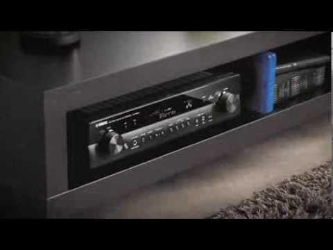 ampli slim 5 1 yamaha rx s600 pr sentation officielle. Black Bedroom Furniture Sets. Home Design Ideas