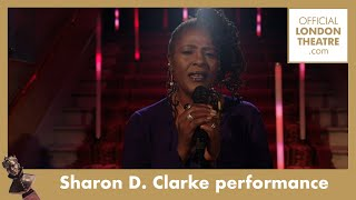 Sharon D. Clarke performs Love Changes Everything | Olivier Awards 2020 with Mastercard