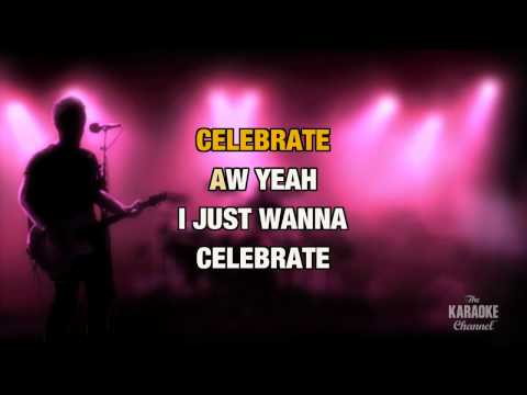 """I Just Want To Celebrate in the Style of """"Rare Earth"""" with lyrics (with lead vocal)"""