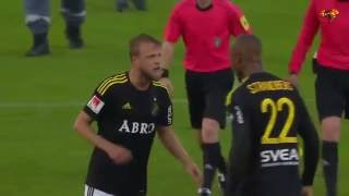 Страндберга отстранили от всех игр в Швеции за драку с одноклубником