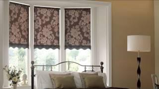 видео шторы римские