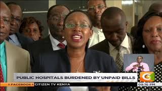Public hospitals burdened by unpaid bills