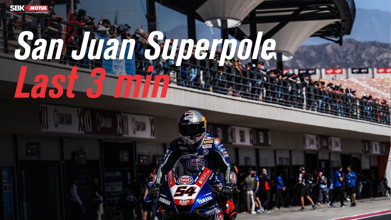 Download Last 3 minutes of Superpole at San Juan