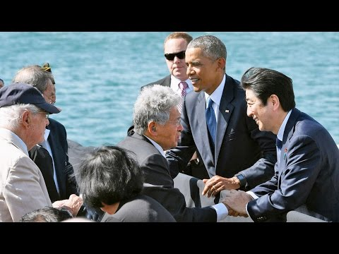 Japanese tourists, Hawaii residents give views on Abe's visit to Pearl Harbor