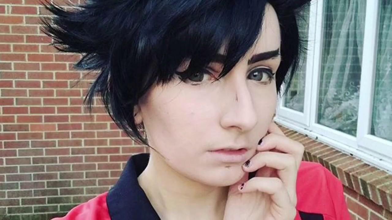 Haikyuu!! Kuroo Tetsurou Cosplay Wig Tutorial - YouTube