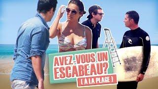 Pranque: demander des objets improbables à la plage / Weird stuff - beach prank