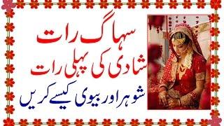 Repeat youtube video Suhagraat - Shadi Ki Pehli Raat Shoher Aur Biwi Kaise Kare