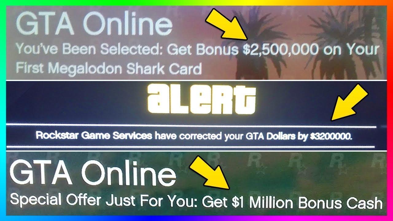 Gta Online Cash Card Bonus