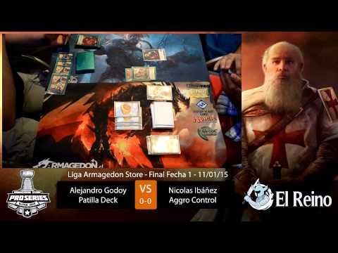 Final Fecha 1 Liga Armagedon 2015 de Mitos y Leyendas (primer duelo)
