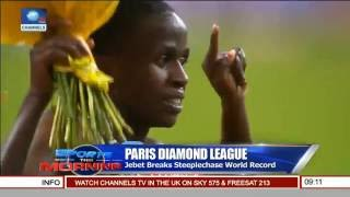 Sports This Morning: Jebet Breaks Steeplechase World Records In Paris Diamond League