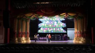 Moscow Ballet Crew Sets-Up Great Russian Nutcracker in  1 min 20 sec!
