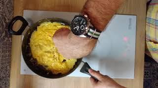 Французская кухня. Омлет. Omelette.