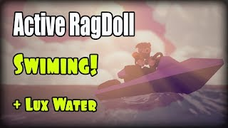 Active Ragdoll in Unity, development progress, Swiming!