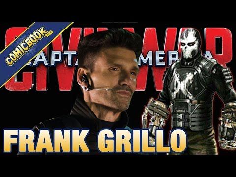 Frank Grillo Talks Captain America: Civil War & Crossbones