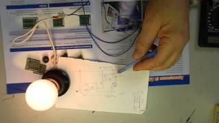 Плавное включение ламп 220в