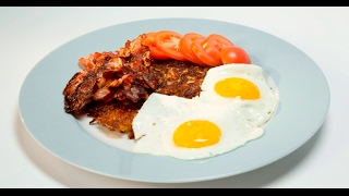 Рёшти с беконом и яйцом | В мундире и без