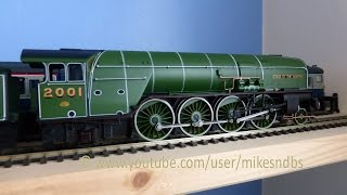 Fitting new motor to Hornby P2 Cock O
