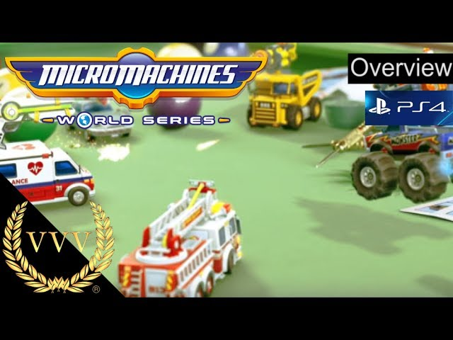 Micro Machines World Series PS4 Overview