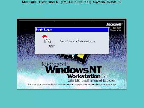 a brief look at microsoft windows nt workstation 40