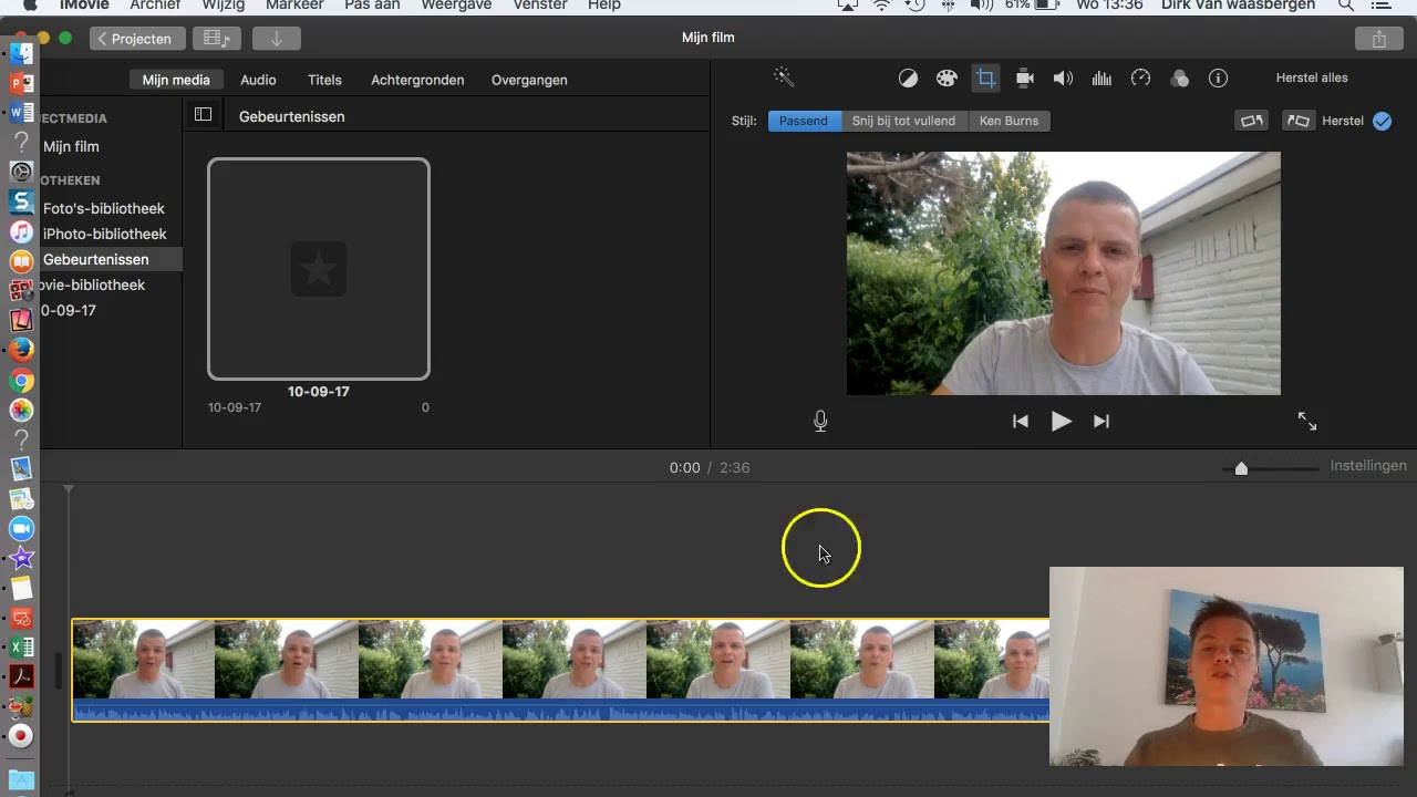 How to rotate a video with imovie that was filmed upside down youtube how to rotate a video with imovie that was filmed upside down ccuart Image collections