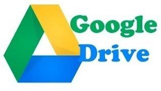 como funciona o google drive ou gdrive