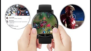 LEMFO LEM X Review - The Smartwatch That Could Replace Your Phone   Smartwatch - 2.03  900mAh