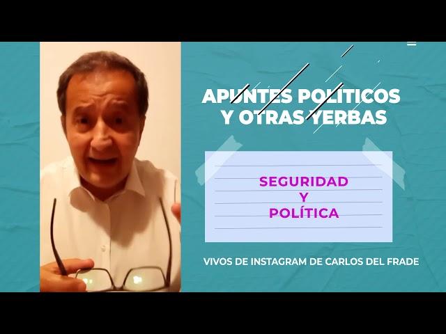Apuntes políticos - Seguridad y política